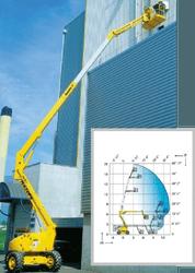 Телескопические дизельные подъемники HA 20 PX